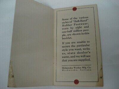 1930'S Ball Band Rubber Footwear Sales Catalog Booklet Mishawaka Woolen 3