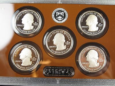 2013-S U.S. MINT PROOF SET 14 CLAD COINS ORIGINAL PACKAGING with CERTIFICATE P15 5
