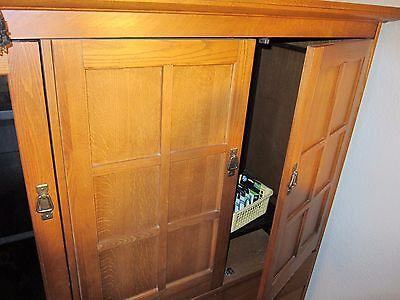 7 Of 12 Hardwood Wood TV Console Stand Armoire Cabinet Entertainment Center