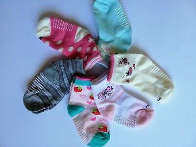 6 paia calzini antiscivolo per bambino12/18 mesi colori misti Tongyun 90%cotone 2