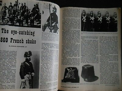 Antiques Journal 1977 Pipes Acid-Etched Glass Greg Killmaster Pottery Shako Hats