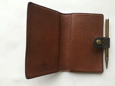 Authentic Louis Vuitton Monogram Mini Agenda & Address With Mechanical Pencil 6