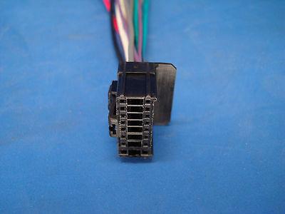 boss planet audio 16 pin cd dvd radio plug stereo wire harness back clip bv7300 Boss Plow Wiring Kits