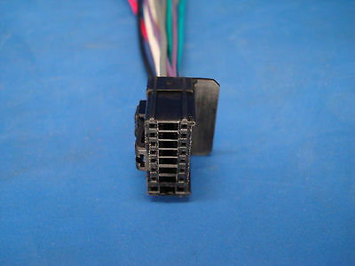 boss planet audio 16-pin cd dvd radio plug stereo wire harness back  clip bv7300