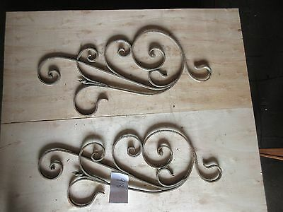 Antique Victorian Iron Gate Window Garden Fence Architectural Salvage #918 2