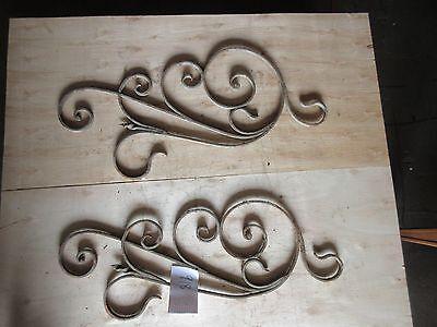 Antique Victorian Iron Gate Window Garden Fence Architectural Salvage #918 2