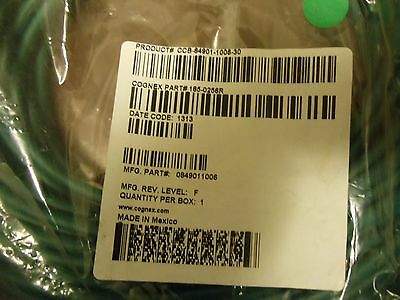 Cognex 185-0256R  Ethernet Cable CCB-84901-1006-30  NEW