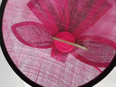 New Large Headband and Clip Hat Fascinator Weddings Ladies Day Race Royal Ascot 3