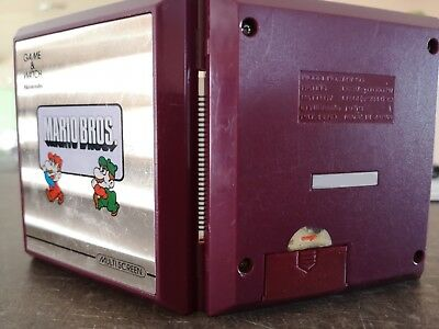 Cache pile Nintendo game & watch 9