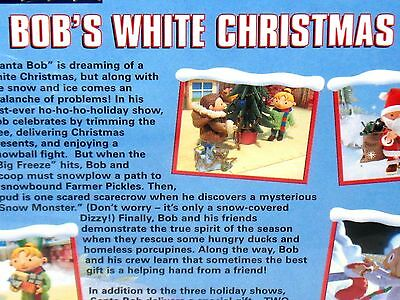 3 of 6 bob the builder bobs white christmas dvd childrens holiday gift new nick jr