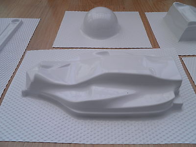 8 clear BPET vacuum forming sheet 460MM BY 360MM 0.30mm vacuum former plastic