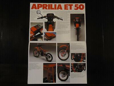 Prospetto APRILIA af1 50 SPORT Mokick Mokick pieno rivestimento brochure prospetto