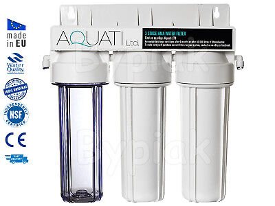 3 Stage HMA Heavy Metal Reduction Water Filter System for discus plec breeding