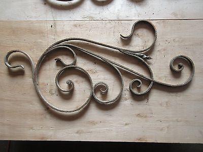 Antique Victorian Iron Gate Window Garden Fence Architectural Salvage #918 3