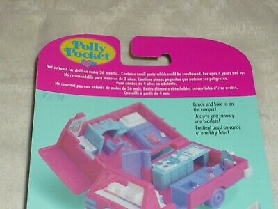 Vintage 1995 Bluebird Polly Pocket Home On The Go Rv Playset New & Sealed Moc 5