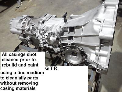 Audi 01e Transaxle Gearbox For Mid Engine V8 Gt40 6 Speed