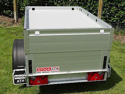 Location d'une grande remorque à bagages Anssems GT 500 aluminium 3