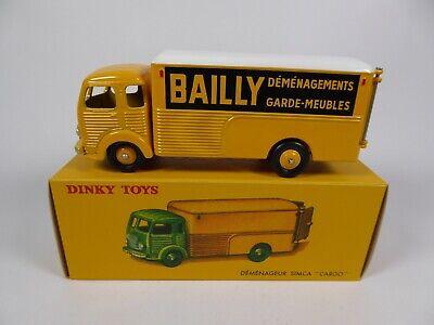 Camion Déménageur Simca Cargo Bailly DINKY TOYS Voiture Miniature MB106