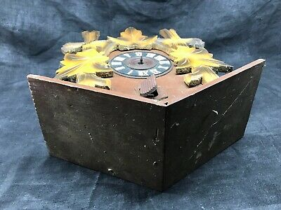 Antique Cuckoo, Control West Germany Cash Wooden Clock Pendulum 6