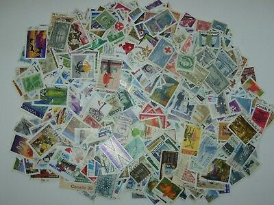 Hoard Of 2 million Used CANADA Stamps 100 To 1000 ALL DIFFERENT Fine To veryFine 2