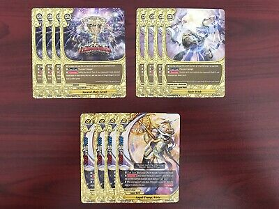 4x EACH R AND C FUTURE CARD BUDDYFIGHT S-BT03 DRAGONBLOOD SECT PLAYSET