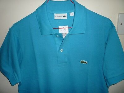 New Tags Size With 43 2 Turquoise Lacoste Eur Shirt Men's Xxs Polo VzMGSUqp
