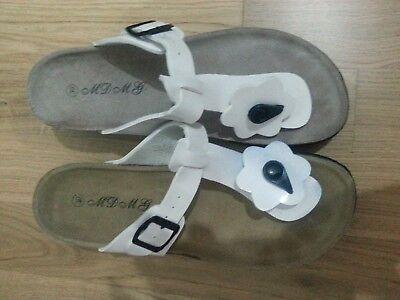 834669ae65 LOTTO 728 SCARPE sandali infradito bianco donna n.39