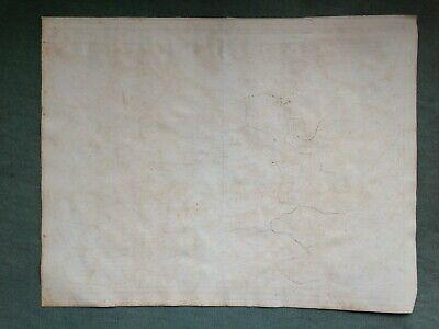 Germany Mecklenburg Dated 1692 Giacomo De Rossi Large Antique Engraved Map 10