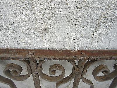 Antique Victorian Iron Gate Window Garden Fence Architectural Salvage #820 4