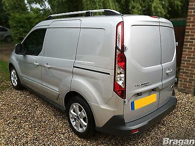 To Fit 14+ Ford Transit Tourneo Connect LWB Aluminium Alloy Roof Rails Rack Bars 5