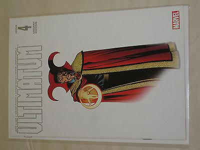 ULTIMATUM #4 - Dr Strange Variant - ED McGUINNESS - Jeph Loeb FINCH - Marvel