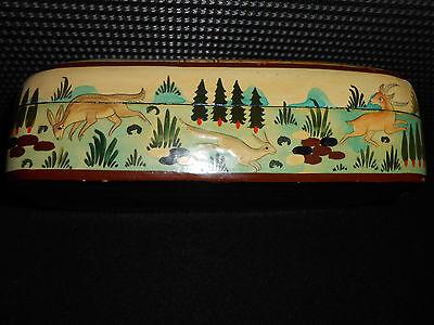 Rare Antique Persian Laquer Box 7
