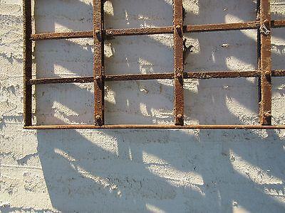 Antique Victorian Iron Gate Window Garden Fence Architectural Salvage Door #77 6