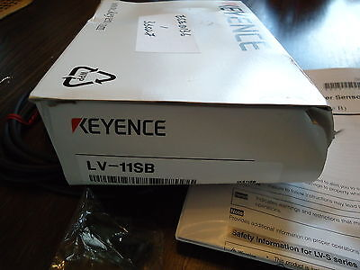 New Keyence Lv-11Sb Lv-S Series Type B. Ultra-Small Digital Laser Sensor Japan