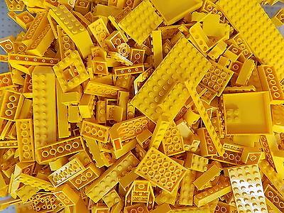 LEGO Yellow 1//4 lb Bulk Lot of Bricks Plates Specialty Parts Pieces