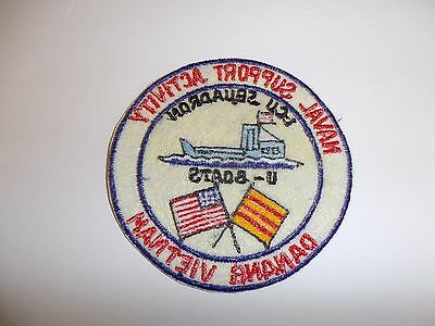 b7290 US Navy Vietnam Naval Support Activity LCU Squadron U-Boats Danang IR27D