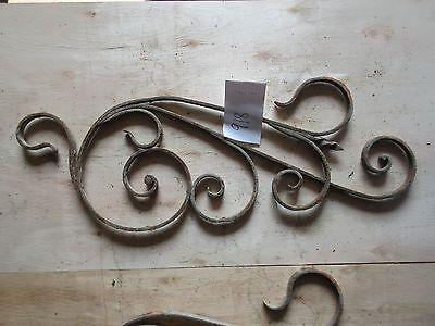 Antique Victorian Iron Gate Window Garden Fence Architectural Salvage #918 4