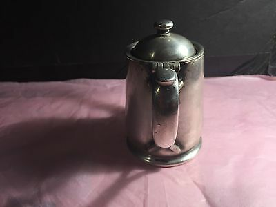 IS international silver co silver soldered Silver Vintage Teapot 3