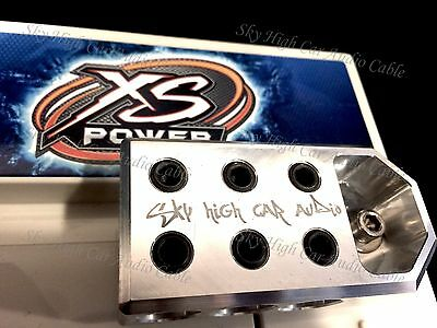 1//0 /& 4 Gauge BATTERY TERMINALS BOLT USE ONLY 6 Pair of COPPER Sky High