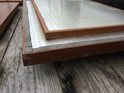 Vintage TEAK Yacht Boat Hatch Cover For Table Top Repurpose 7
