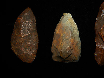 """Pre-Columbian Stone Tools """"Projectile Points"""", 100% Authentic 2"""