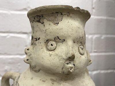 Ancient Nazca Figural Vessel Peru Inca Moche Nasca Precolumbian Artifact Pottery 8