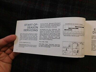 Operating And Maintaining Your Briggs & Stratton 4 Cycle Engine Manual 3