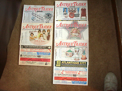 Lot of 18 1998-1999 Antique Trader Weekly Magazines (5)1998 (13)1999