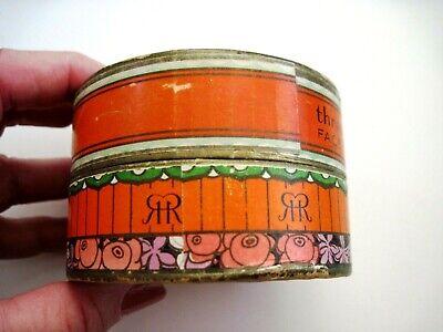 "Vintage Powder Box ""Three Flowers"" Face Powder - ""Richard Hudnut "" Art Deco  * 3"