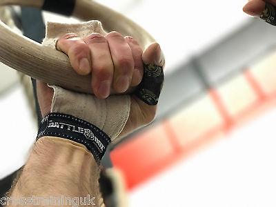 BattleBox UK™ WOD Gloves Soft Hand Guard Protector Strap CrossFit WOD