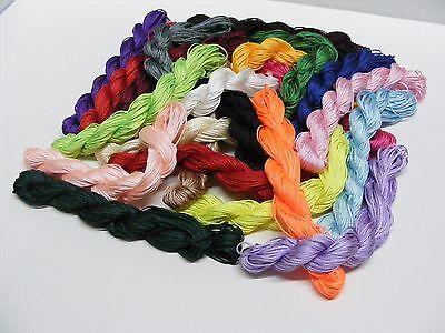 Kumihimo Satin Nylon Rattail Cord - 1mm Nylon Thread - 24Mtrs  > Great Value 2