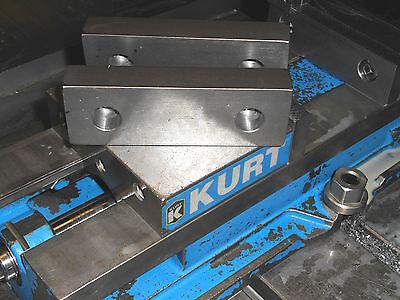 "Machinable Steel Tall 8 x 3 x 1/"" Standard Soft Jaws for Kurt 6/"" Vises Long"