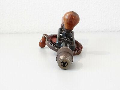 Vintage Antike Handbohrmaschine Holz Bohrer Bohrmaschine Handbohrer 6