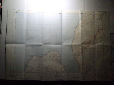 "Ordnance Survey 2.5"" Map NX07 Mouth Loch Ryan 1961 Milleus Point Corsewall Poi 2"